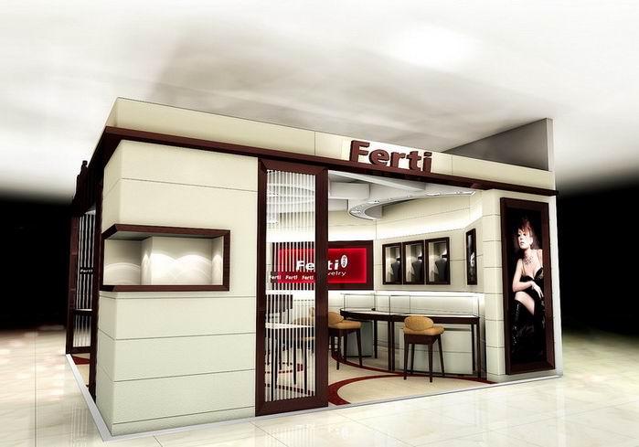 ferti珠宝专卖店设计效果图