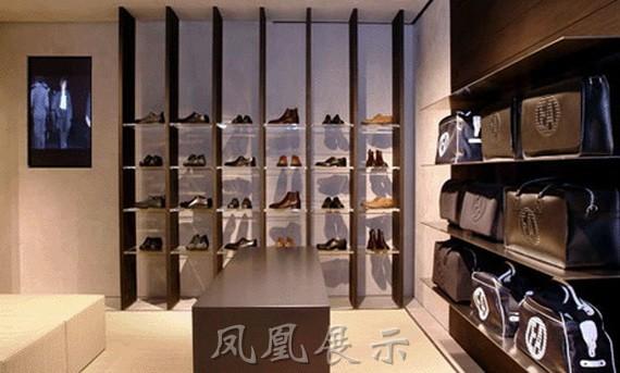 鞋店展示柜pe-1901-展柜|箱包展柜|红酒展柜设计