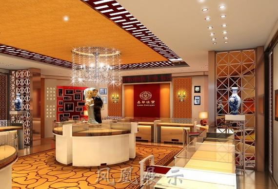 珠宝店面设计pe-2221-深圳市远泰整体家具有限公司