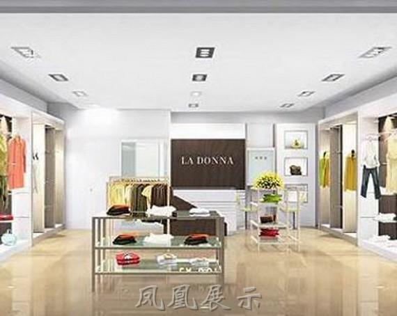 服装店面设计pe-2301-深圳市远泰整体家具有限公司