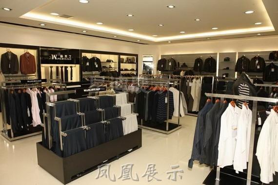 【产品名称】:服装展示柜店面设计